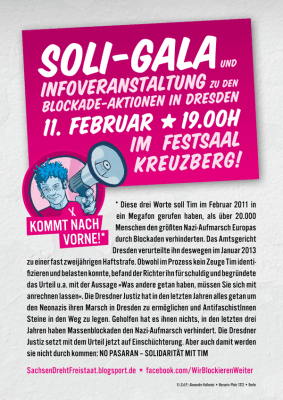 Flyer für Soligala